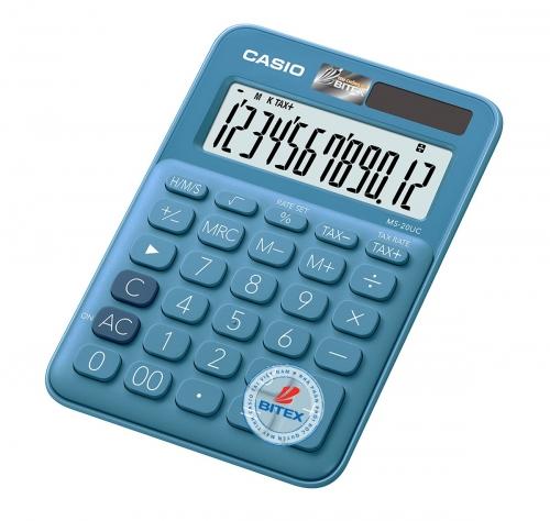 Máy tính Casio MS-20UC xanh dương