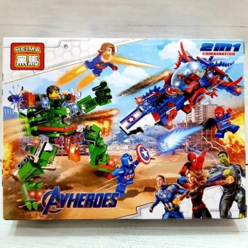 Bộ lego Nội chiến Siêu anh hùng